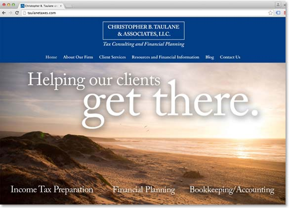 Christopher B. Taulane & Associates launches new website